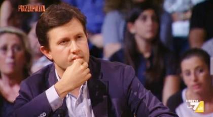 Il sindaco di Firenze, Dario Nardella (Photocredit: Piazzapulita/La7)