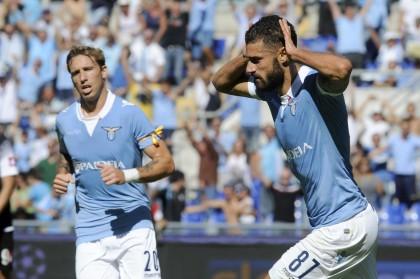 Lazio vs Cesena - Serie A Tim 2014/2015