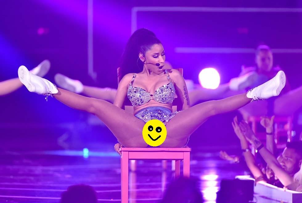 Nicki Minaj censurata sul palco del Fashion Rocks: «La sua ...