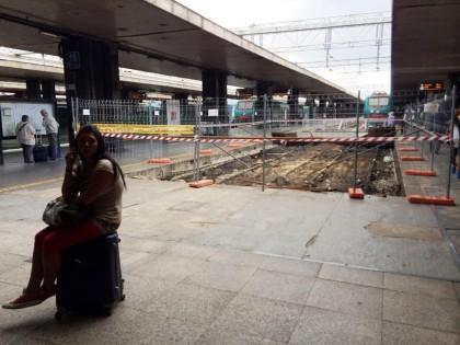 Degrado e sporcizia alla Stazione di Roma Termini