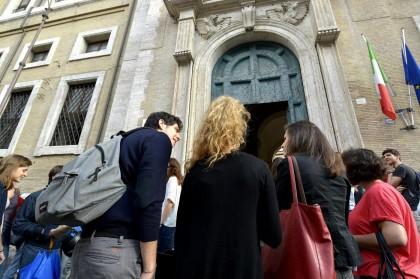 """Maturità: Roma,  liceo ginnasio """"E. Q. Visconti, Prima prova scritta"""