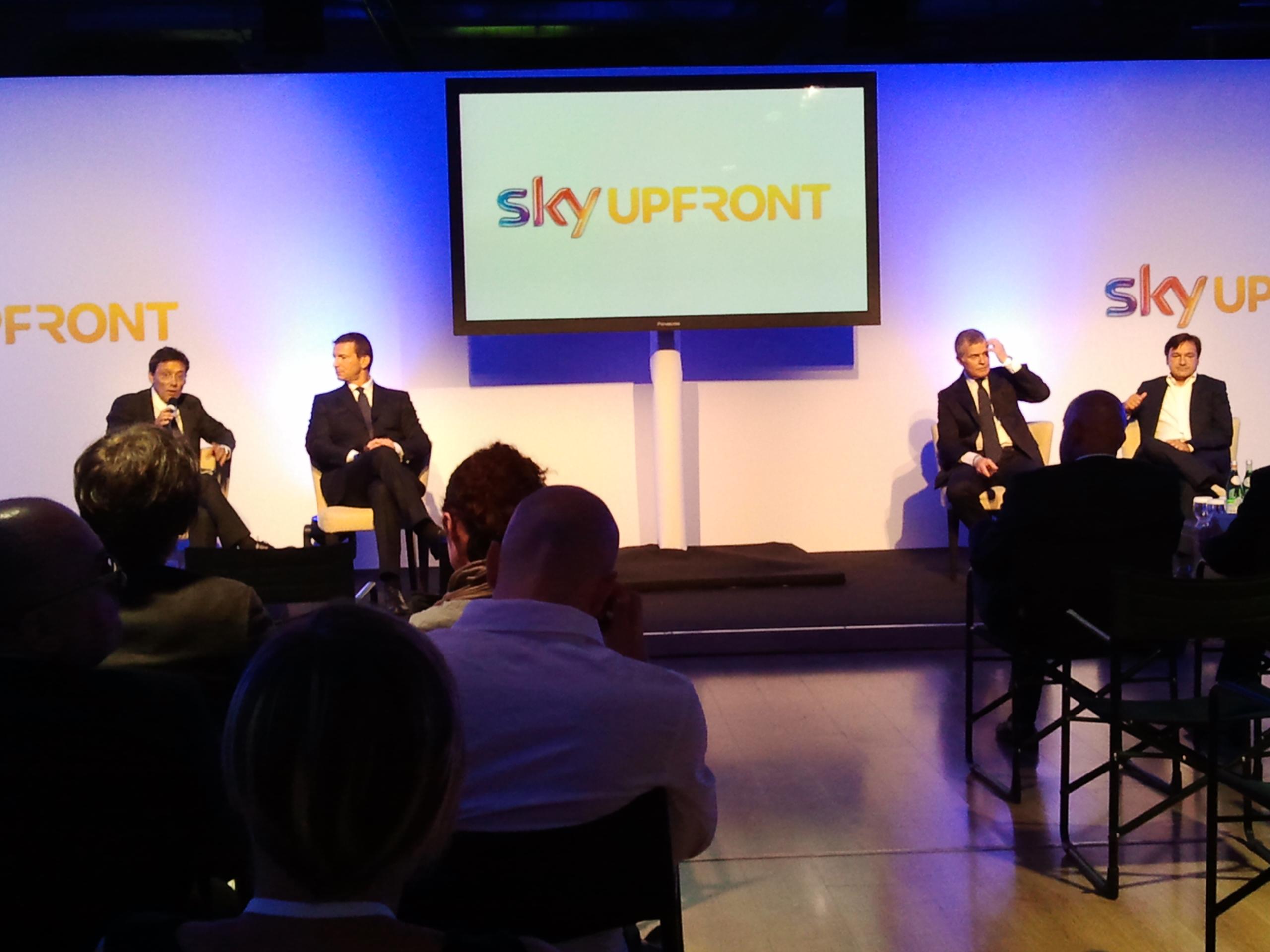 Sky Sport conferenza stampa di presentazione