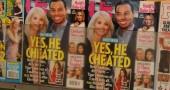 2. Tuttavia la monogamia è solo un aspetto della strategia riproduttiva umana. Anche l'infedeltà è molto diffusa, Secondo studi attuali effettuati su coppie americane tra il 20 e il 40% degli uomini sposati e tra il 20% e il 25% delle donne sposate avranno anche una relazione extraconiugale durante la loro vita (MARK RALSTON/AFP/Getty Images)