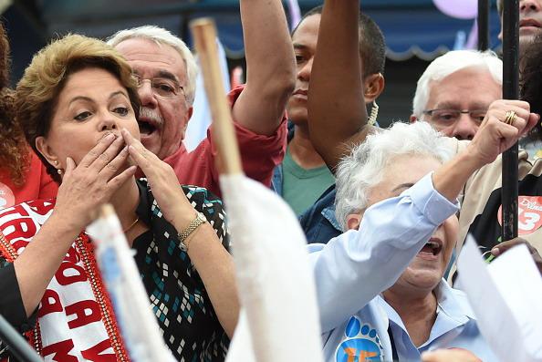 Dilma Rousseff, VANDERLEI ALMEIDA/AFP/Getty Images