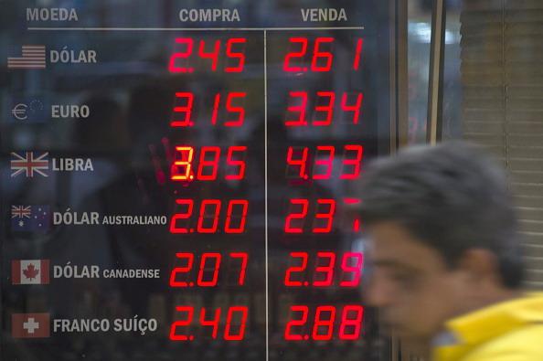 Rapporti di cambio del Real brasiliano, VANDERLEI ALMEIDA/AFP/Getty Images