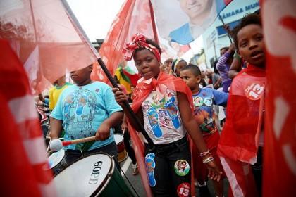Momento della campagna elettorale, Mario Tama/Getty Images