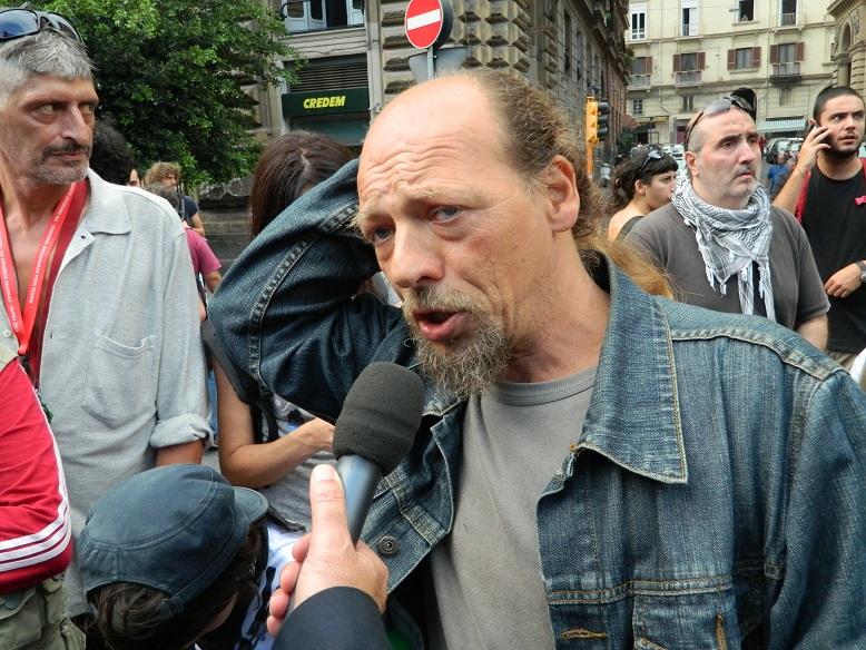 Manifestazione Napoli Block Bce 19