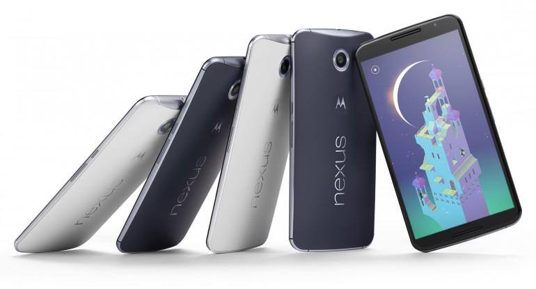 I Nexus 6 saranno disponibili in diverse colorazioni