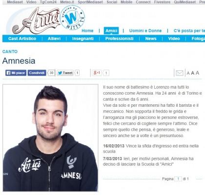 amnesia amici 12 arrestato 2