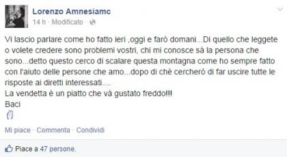 Facebook/Lorenzo Amnesiamc