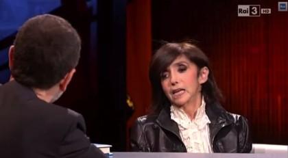 Anna Marchesini ospite di Fabio Fazio a Che tempo che fa - Foto: YouTube