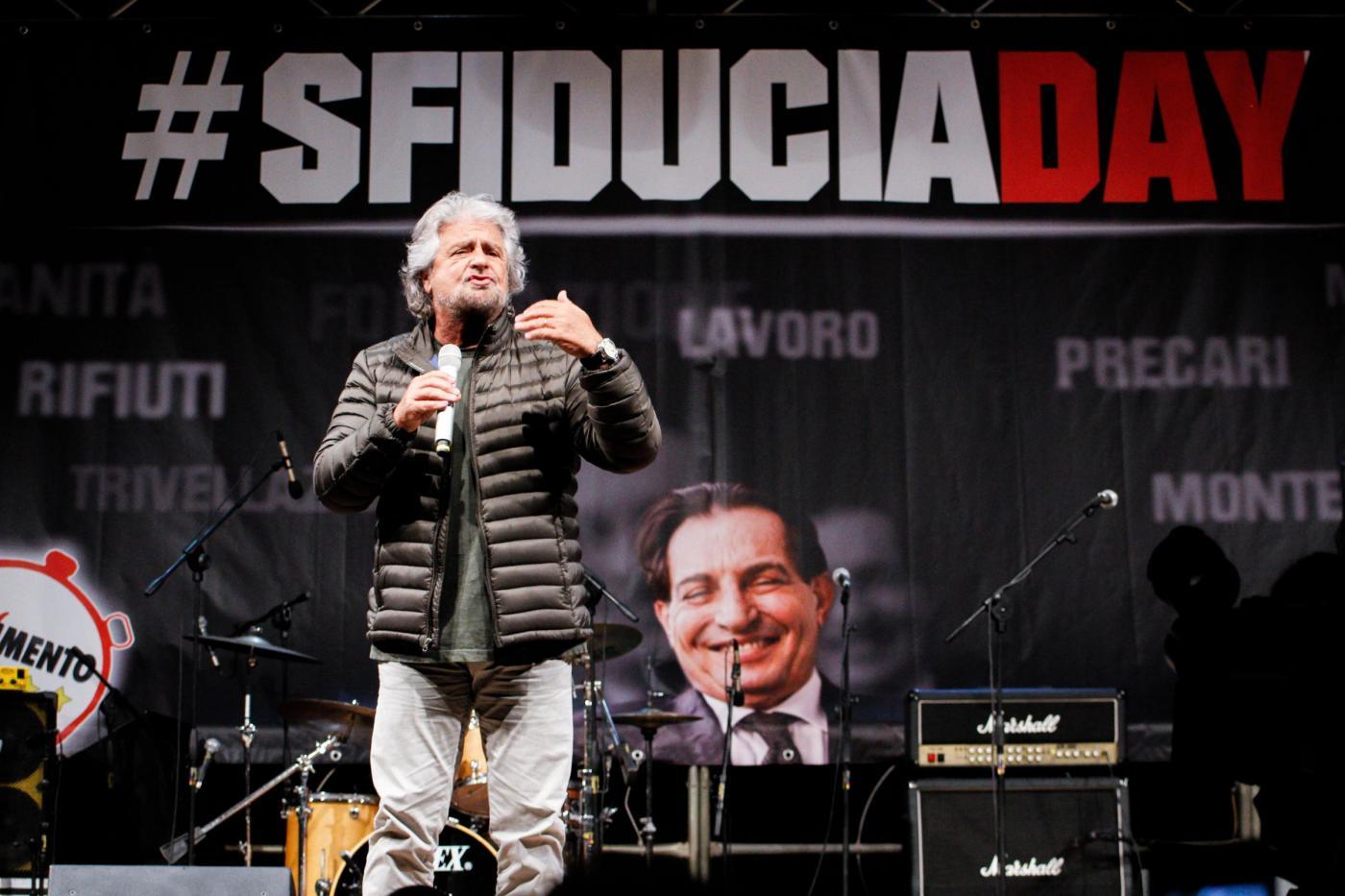 'Sfiducia Day' contro Crocetta a Palermo