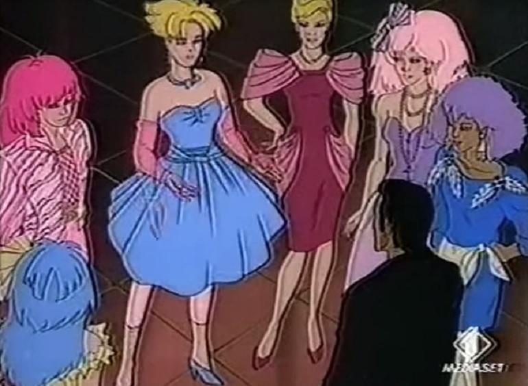 Le trasformazioni delle eroine dei cartoni animati che