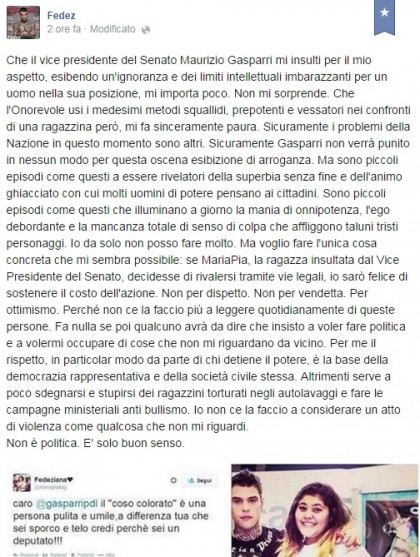 Facebook/Fedez