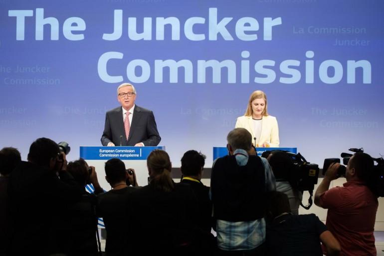 Jean-Claude Juncker. AP Photo/Geert Vanden Wijngaert