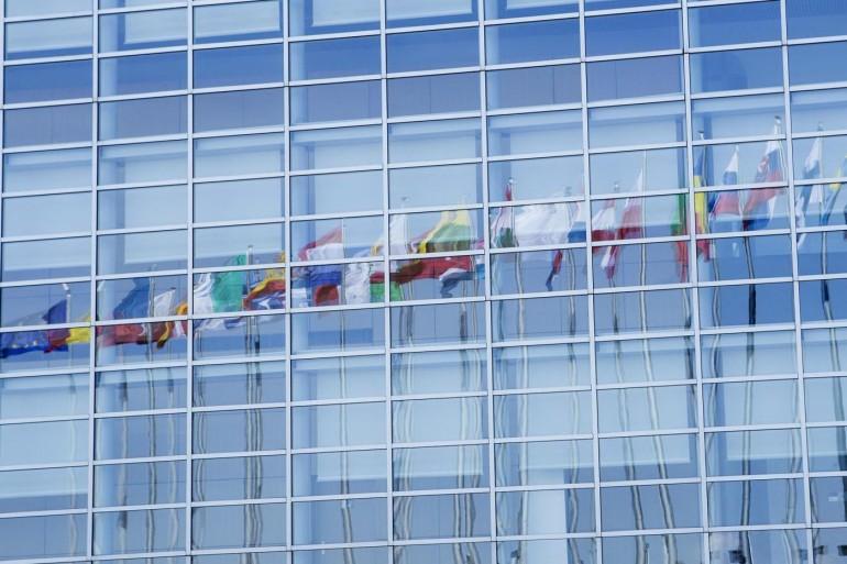 La sede del Parlamento europeo. Roberto Monaldo / LaPresse