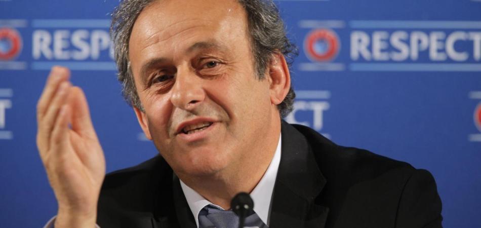 Juventus-Roma, Platini: «Ho sentito le solite polemiche»