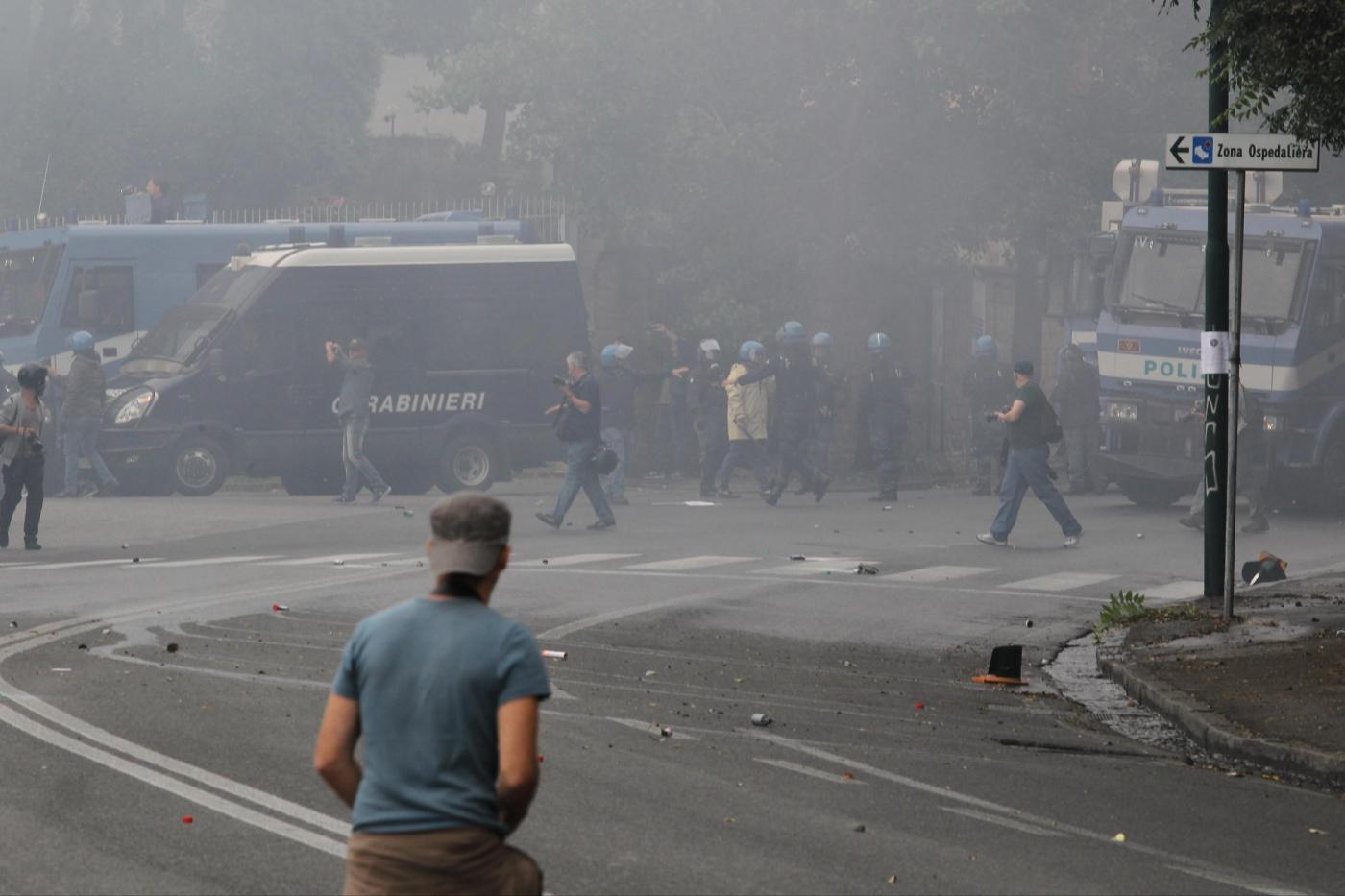 Corteo anti-Bce a Napoli
