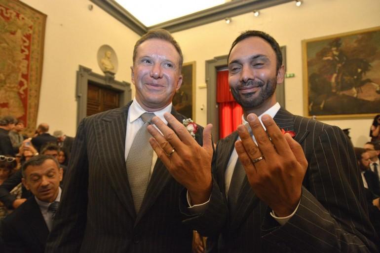 Le 'nozze gay' celebrate dal sindaco Marino finiscono sul Nyt