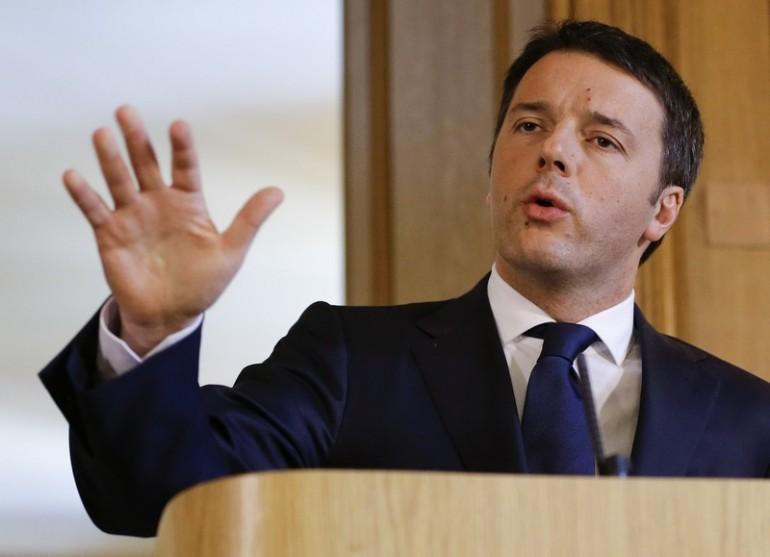 Matteo Renzi «Il sindacato non fa trattative con il governo»