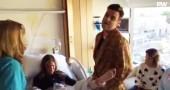Il video di Robbie Williams che canta 'Let lt Go' mentre sua moglie partorisce