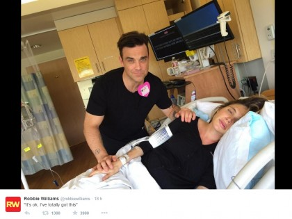 Twtter/@robbiewilliams