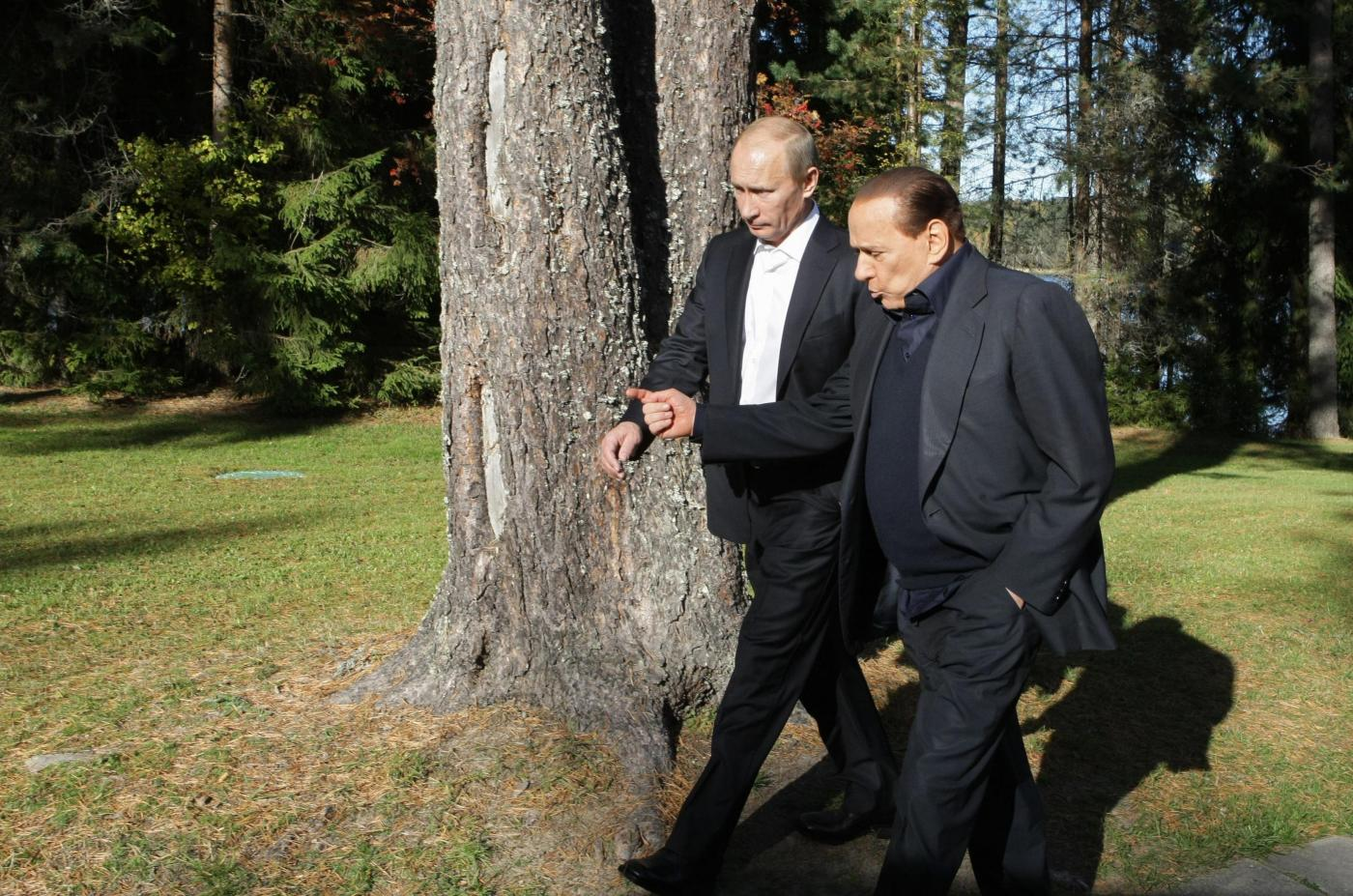Silvio Berlusconi questa sera incontrerà Vladimir Putin