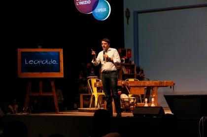 Apertura della quinta edizione della Leopolda a Firenze