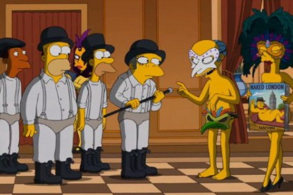 the simpsons stanley kubrick