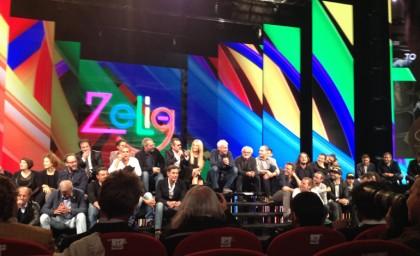 Il cast di Zelig - Foto: Valentina Spotti per Giornalettismo