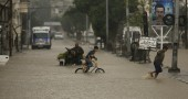 PALESTINIAN-GAZA-WEATHER-FLOOD