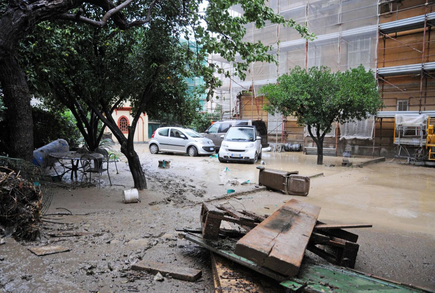 Maltempo, Chiavari gravemente colpita da acqua e fango