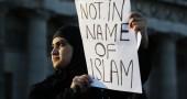Isis protest in Edinburgh
