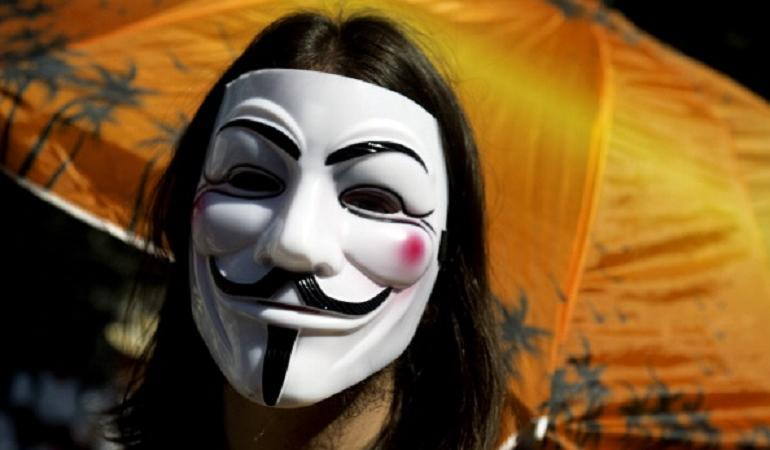 guy fawkes maschera chi era