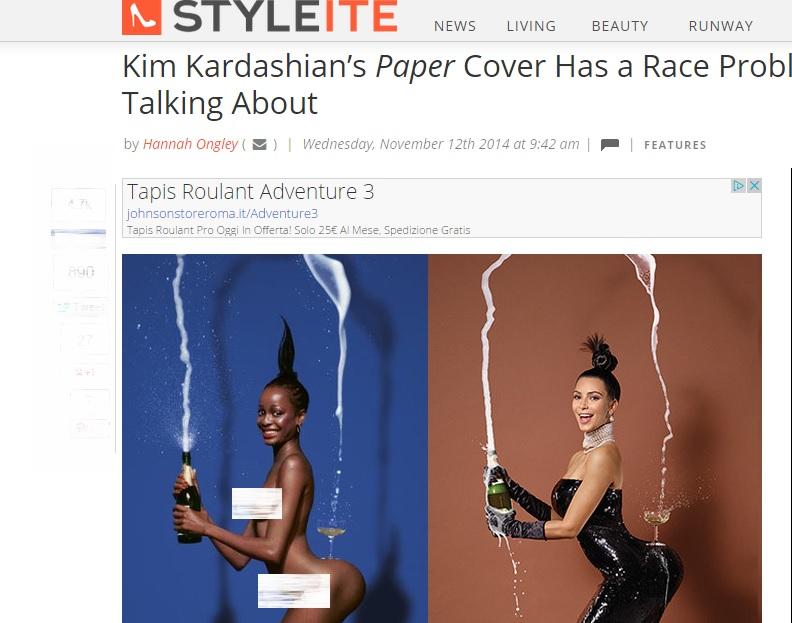"""Kim Kardashian, la vera storia della copertina """"da infarto"""" su Paper"""