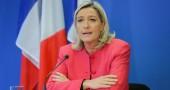 Marine Le Pen in conferenza stampa