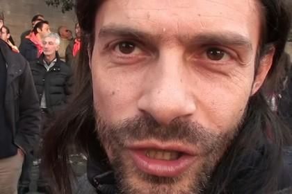 maurizio landini commenti corteo fiom governo onesti 1