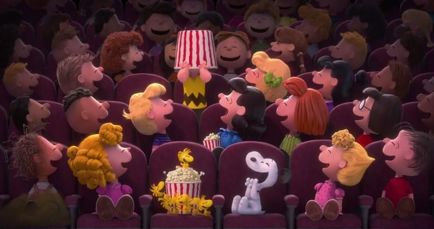L'anteprima del nuovo film dei Peanuts che uscirà nel 2015