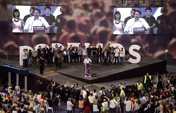 Podemos a congresso, DANI POZO/AFP/Getty Images