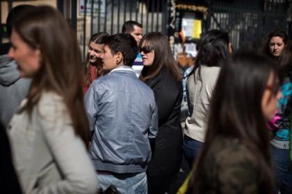 Giovani spagnoli disoccupati, Jasper Juinen/Getty Images