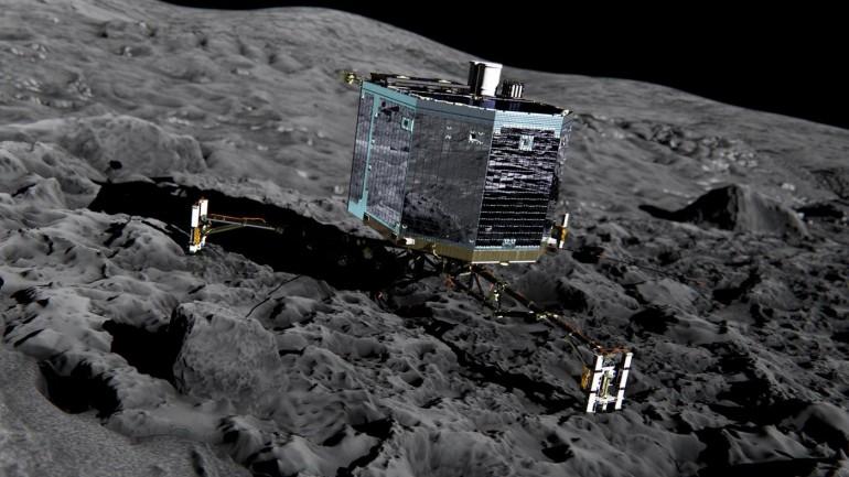 [Streaming|Diretta]Guarda la sonda Rosetta che atterra sulla cometa