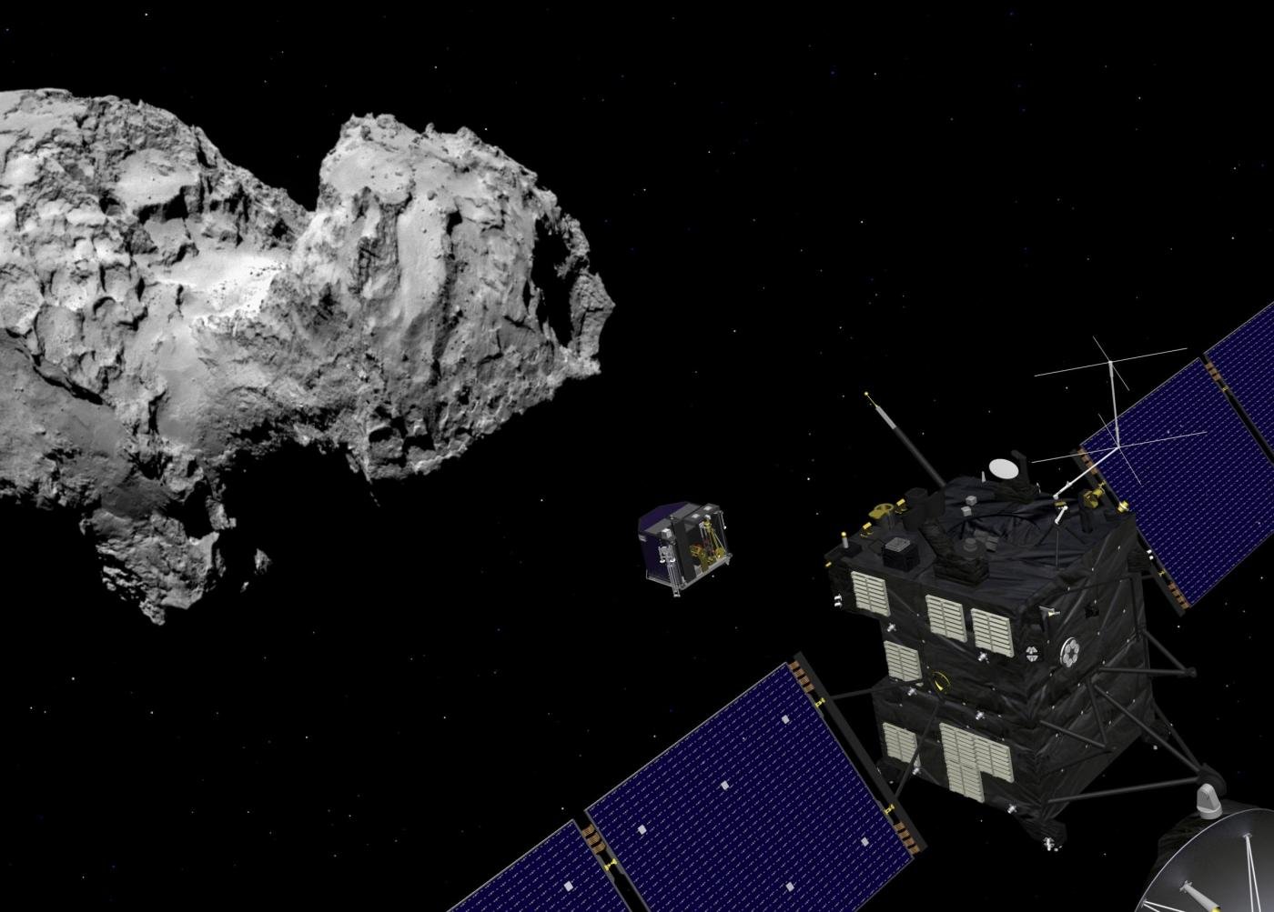 Bid to land probe on comet