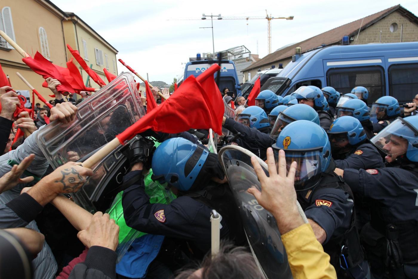 Protesta contro Sblocca Italia a Napoli