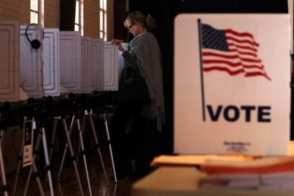 Elettori alle elezioni di metà mandato del 2014. Alex Wong/Getty Images