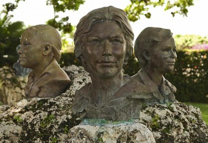 La statua commemorativa delle sorelle Mirabal - RICARDO HERNANDEZ/AFP/Getty Images