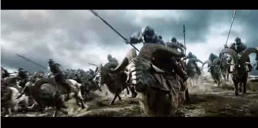 Lo hobbit 3 i cinque momenti pi nerd del film - La battaglia dei cinque eserciti gioco da tavolo ...
