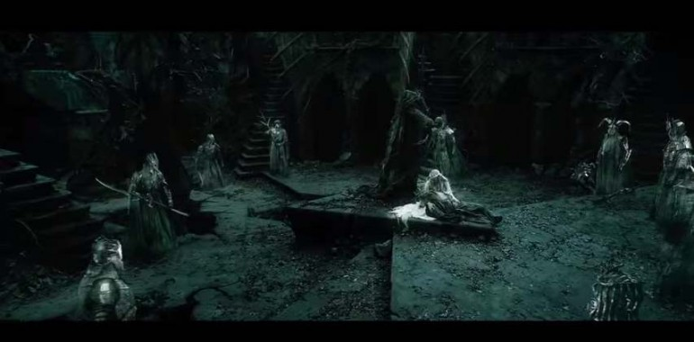 Gandalf, Galadriel e i Nazgul