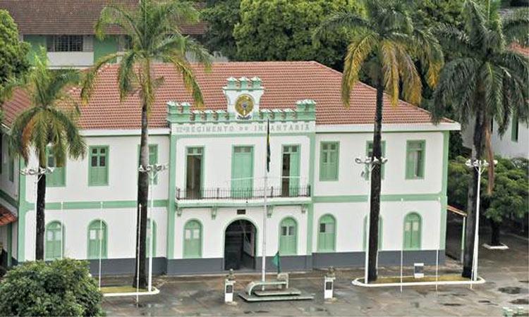 La sede del 12° reggimento a Belo Horizonte, uno dei centri nei quali si praticava la tortura