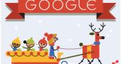 buone feste doodle