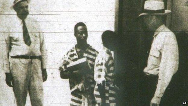 Georg Stinney in carcere una settimana prima dell'esecuzione
